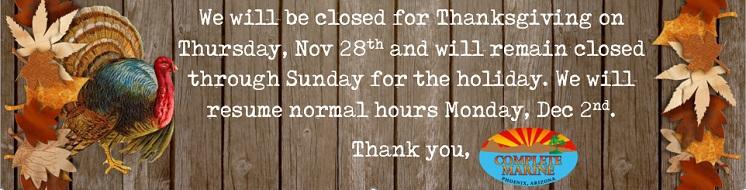 Closed Thanksgivig